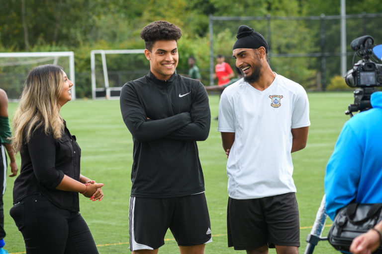 NSG Project - Youth Soccer Tournament in North Surrey